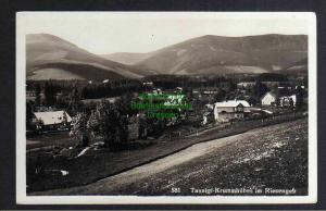 Ansichtskarte Tannigt Krummhübel im Riesengebirge Fotokarte 1932