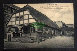 Ansichtskarte Gollub Westpreußen 1914 Altertünlichkeit Ehem Erstes Ritter Restaurant