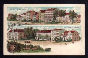 Ansichtskarte Kohlfurt Wegliniec um 1910 Hotel Hohenzollern Görlitzer Strasse