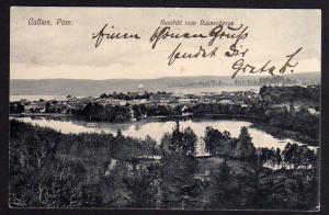 Ansichtskarte Callies Kallies Aussicht vom Russenberge 1913