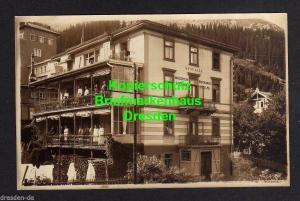 Ansichtskarte Davos Dorf um 1925 Fotokarte Haus Villa Quisisana Mädchen Erholungs He