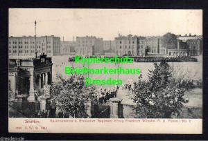 Ansichtskarte Stettin um 1905 Kasernen Grenadir Regiment König Wilhelm IV. ( 1. Pomm