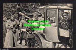 Ansichtskarte Das Deutsche Heer Kaiser Wilhelm II. mit seinem Stabe bei der Befehls