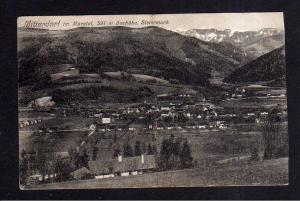 Ansichtskarte Mitterdorf im Mürztal Steiermark 1925