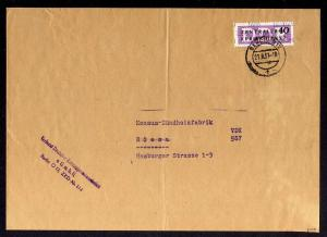 B1600 DDR ZKD 12 Kontrollzahl 1600 Brief Berlin geprüft BPP ZKD Nr. 114 Konsum V