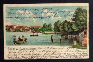 Ansichtskarte Haderslev Hadersleben 1903 Partie vom Damm