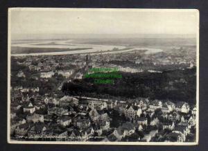 Ansichtskarte Swinemünde Luftbild 1931