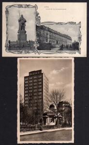 Ansichtskarte Jena UNI Kurfürstendenkmal 1906 Zeiss Hochhaus