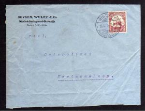 B1003 Brief Deutsch Südwestafrika 1912 Firmenvordruck Boysen Wulff  Co. Windhuk