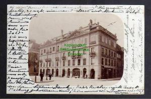 Ansichtskarte Freiburg im Üechtland Fribourg 1903 Fotokarte A La Belle Jardiniere