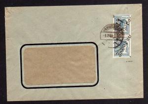 h1312 Brief Handstempel Bezirk 41 Zschopau 3.7.48 Textilwerke Venusberg Gruschwi