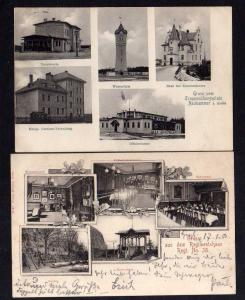 2 Ansichtskarte Swietoszow Neuhammer Queis Truppenübungsplatz Wasserturm Hauptwache