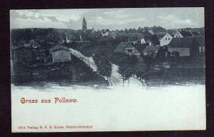 Ansichtskarte Pollnow Polanow um 1905