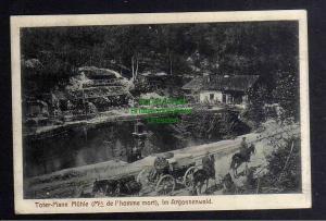 Ansichtskarte Argonnenwald Toter Mann Mühle 1915 Feldpost