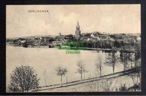 Ansichtskarte Barlinek 1906 Berlinchen Panorama Kirche