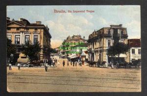 Ansichtskarte Braila Sta. Imperatul Trajan 1918 Feldpost
