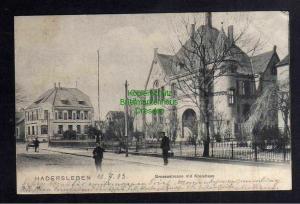 Ansichtskarte Haderslev Hadersleben 1903 Drossestrasse mit Kreishaus