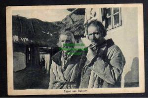 Ansichtskarte Typen aus Galizien 1917