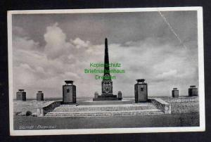 Ansichtskarte Warndt Ehrenmal Denkmal 1940