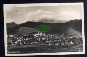 Ansichtskarte Einsiedeln Schwyz Fotokarte Panorama 1925