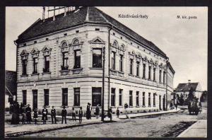 Ansichtskarte Targu Secuiesc Kézdivásárhely Szekler Neumarkt 1917 Postamt Kir. posta