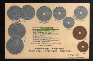 Ansichtskarte Münzprägekarte belgisch Kongo Congo belge 1931