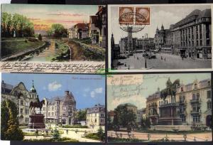 9 Ansichtskarte Erfurt Bahnhofsplatz 1934 Kaiserplatz 1934 Christianenheim Regierung