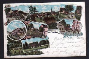 Ansichtskarte Harsefeld Litho 1900 Molkerei Oberförsterrei Gasthof Greve Hotel Hambur