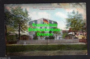 Ansichtskarte Heinrichsruh bei Schleiz 1912 Hotel u. Sommerfrische Luginsland