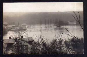 Ansichtskarte Leisnig Hochwasser Überschwemmung Katastrophe