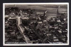 Ansichtskarte Vohenstrauß Bayer. Ostmark Orig. Fliegeraufnahme 1940