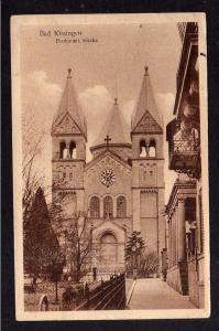 Ansichtskarte Bad Kissingen Protestantische Kirche 1928