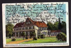 Ansichtskarte Presse Heim Oberwartha Sächs. Journalisten u Schriftsteller Heim Lossow