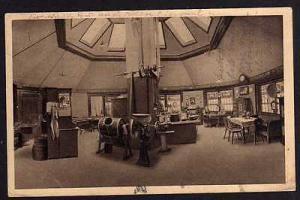 Ansichtskarte Brauerei Falkenstein 1931 Oberfranken Innenansicht Gaststube