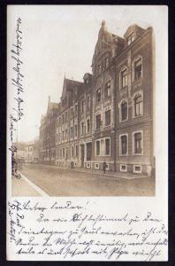 Ansichtskarte Döbeln 1907 Fotokarte Wohnhaus Geschäft Friedrich Reinicke