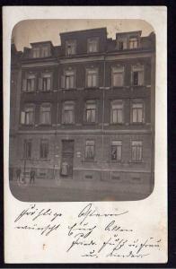 Ansichtskarte Döbeln 1907 Fotokarte Wohnhaus Hausnummer 15 Fotograf Otto Kaiser Weinb