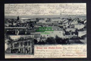 Ansichtskarte Niederjeutz Nieder Jeutz Yutz 1902 Restauration Gasthaus Ewald Scholz