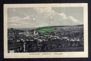 Ansichtskarte Troisfontaines Dreibrunnen 1917 Biberkirch Vallerystal Vallerysthal