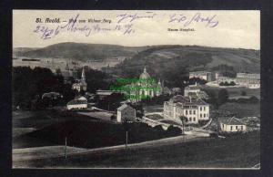 Ansichtskarte Saint-Avold Sankt Avold 1906 Blick vom Walmer Berg Neues Hospital