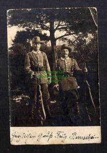 Ansichtskarte Soldaten in Tropenuniform 1904  Militär Gewehr