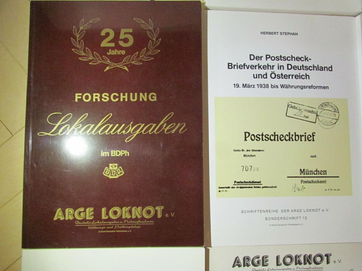 Deutsche Barfrankaturen und Notentwertungen ab 1945 Literaturpaket Hefte 1 - 55 2