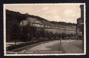 Ansichtskarte Waldenburg Schlesien 1940 AH Aue Schillerbaude Fotokarte