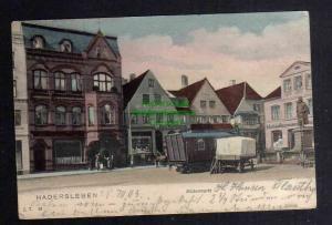 Ansichtskarte Haderslev Hadersleben 1903 Südermarkt Geschäft Mordhorst