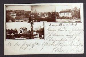Ansichtskarte Alt Kemnitz Stara Kamienica 1900 Warenhaus Bruno Wendler Schloss Fotok