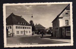 Ansichtskarte Schmiedeberg i. Riesengebirge Postamt Fotokarte um 1930