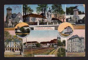 Ansichtskarte Wahlstatt Legnickie Pole 1915 Kirche Lehrerhaus Kadettenhaus Kadettena