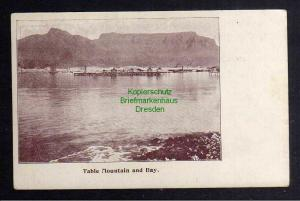 Ansichtskarte Kapstadt Cape Town Table Mountain and Bay um 1900
