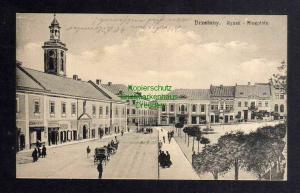 Ansichtskarte Bereschany Brzezany Ryneck Ringplatz 1915
