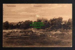 Ansichtskarte Haderslev Hadersleben Mühlenstrom 1914