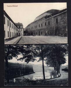 2 Ansichtskarte Cüstrin Altstadt Seilermeister Warder um 1915 in der Festung 1920